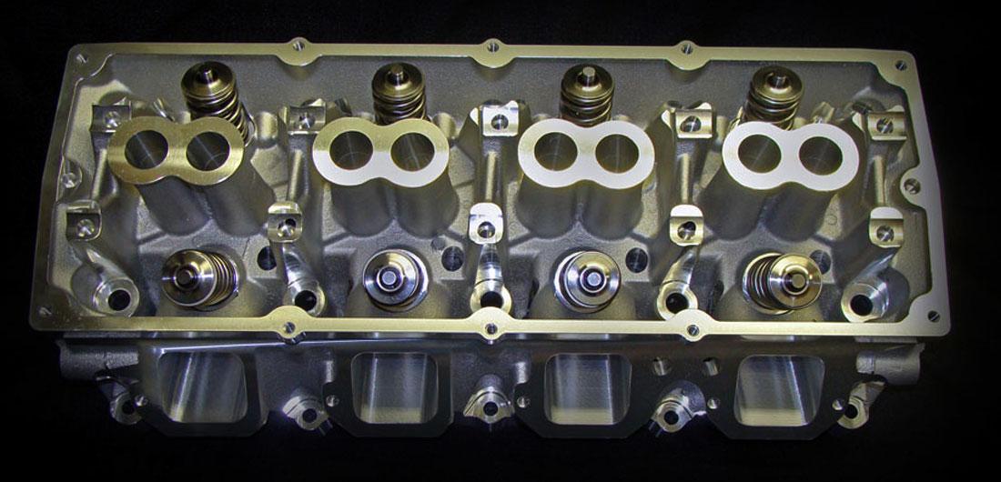 "GIIIH ""Bear"" | Assembled CNC Ported Dual Spring Cylinder Head Gallery"